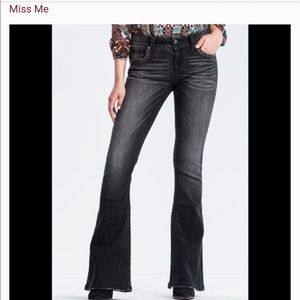 New Miss Me flare jeans- 27 LONG